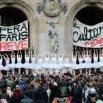Балерины Парижской оперы поддержали бастующих