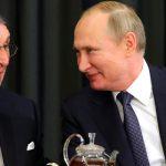 На встрече с бизнесменами из Германии Путин перешел на немецкий