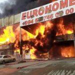 На рынке стройматериалов в Баку сгорело 2 га территории
