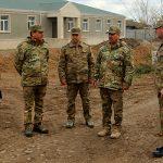Министр обороны ознакомился с ходом строительных работ в воинских частях