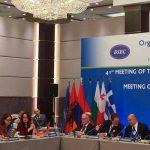 Азербайджанская делегация приняла участие в заседании ОЧЭС