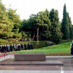 Владимир Зеленский посетил могилу Гейдара Алиева