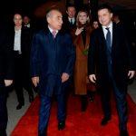 Президент Украины прибыл с официальным визитом в Азербайджан