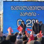 """""""Альянс патриотовГрузии"""" провел акцию у посольства США в Тбилиси"""