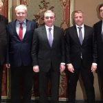 Глава МИД Армении встретился с сопредседателями МГ ОБСЕ в Женеве