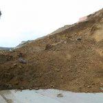 Сегодня утром в Бадамдаре вновь произошел оползень