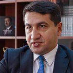 Хикмет Гаджиев: Армения старается вовлечь сторонние институты и организации в этот конфликт