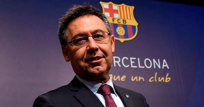 Президента «Барселоны» могут оштрафовать на сумму до 18 тысяч евро