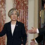 Глава МИД Южной Кореи обсудила с Помпео КНДР и Ближний Восток