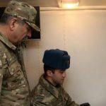 Министр обороны проверил боевую технику и средства ПВО