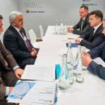 Президент SOCAR в Давосе встретился главой украинского государства