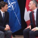 Трюдо и Столтенберг обсудили ситуацию с возглавляемой Канадой миссией НАТО в Ираке