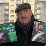 Бахрам Багирзаде посвятил книгу президенту и раздаст ее детям бесплатно