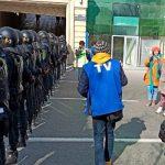 В ГУП Баку сообщили об удалены с территории перед ЦИК пытавшихся собраться людей