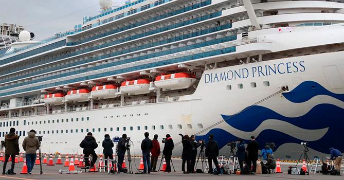США отказались от эвакуации американцев с Diamond Princess в начале карантина