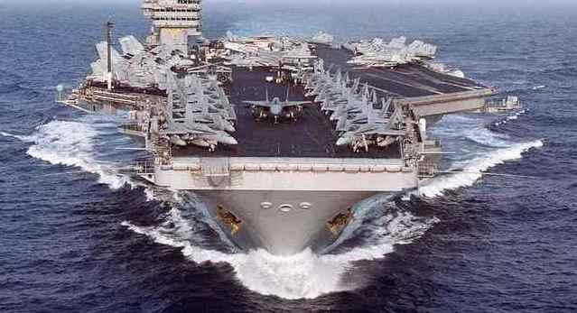 ВМС США освободили от должности командира авианосца «Theodore Roosevelt»