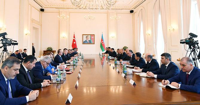 Состоялось заседание Азербайджано-Турецкого совета стратегического сотрудничества