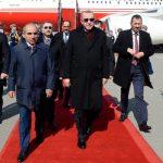 Президент Турции прибыл в Баку