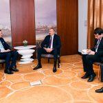 Президент Азербайджана находится с визитом в Германии