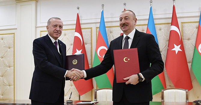 Состоялось подписание азербайджано-турецких документов