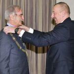 Полад Бюльбюльоглу награжден орденом «Гейдар Алиев»