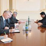 Ильхам Алиев принял спецпредставителя Европейского союза