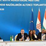 В Баку стартовало VI заседание министров в рамках Консультативного совета ЮГК