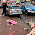 В Германии в результате наезда автомобиля пострадали более 30 человек