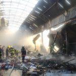 Пожар в торговом центре «Садарак» потушен