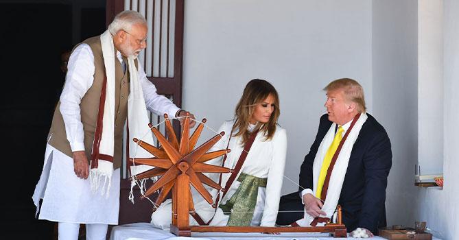 Трамп объявил о заключении крупной военно-торговой сделки с Индией