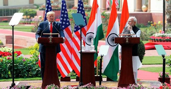Трамп готов выступить посредником в урегулировании в Кашмире