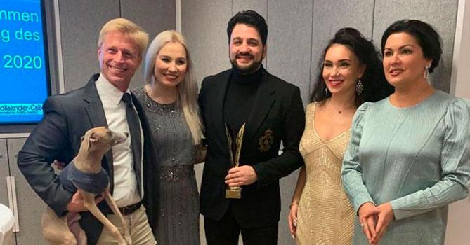 Юсиф Эйвазов удостоен престижной премии в Вене