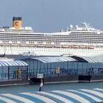 Власти Сингапура разрешили итальянскому круизному лайнеру Costa Fortuna зайти в порт