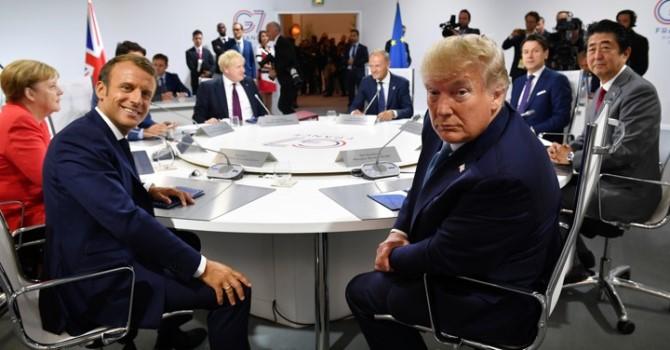 Франция выступила против возвращения России в G7