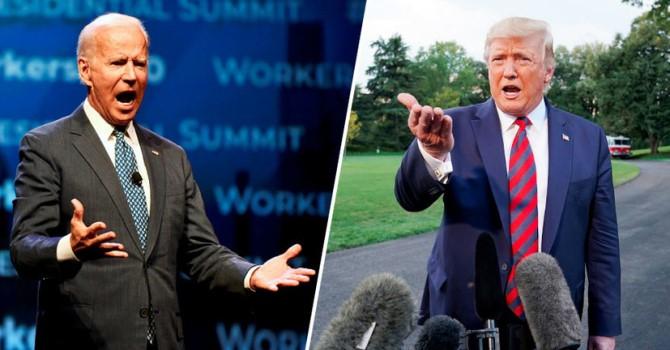 Трамп обвинил Байдена в слабости
