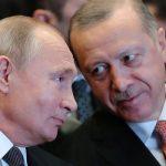 Эрдоган пригласил Путина в Турцию к столетию дипотношений
