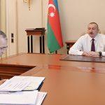 """Ильхам Алиев: """"В ближайшие дни планируется реализация широкого экономического пакета"""""""