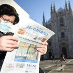 В Италии за сутки из-за коронавируса умерли 333 человека