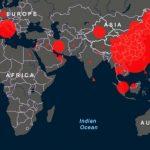 Страны с наибольшим числом зараженных коронавирусом - СПИСОК