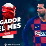 Месси признан лучшим игроком февраля в Ла Лиге