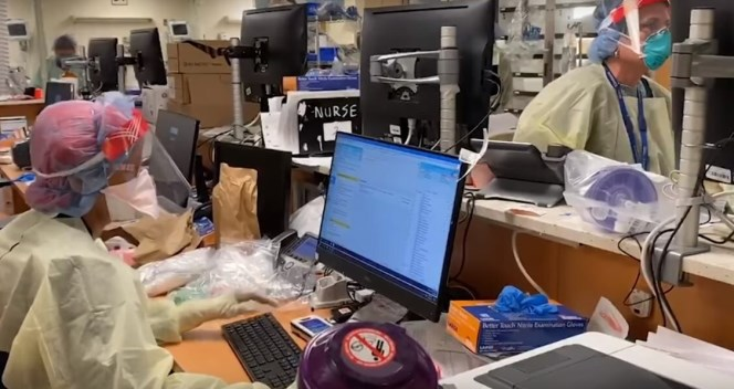 Врач: COVID-19 погрузил больницы Нью-Йорка в апокалипсис — Видео