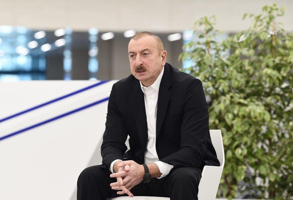 Ильхам Алиев: «Лица старше 65 не должны выходить на улицу. Меры будут ещё более ужесточены»