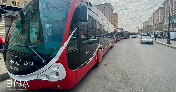 С завтрашнего дня в Баку пустят дополнительные автобусы