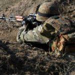ВС Армении продолжают обстрел азербайджанских позиций из крупнокалиберных пулеметов