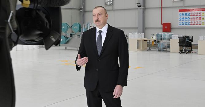 Ильхам Алиев: «Строгий карантинный режим будет действовать до 20-го числа»