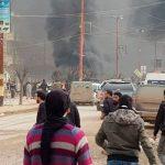 В результате теракта в Африне погибли и были ранены десятки человек