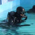 На полигоне ВМС Азербайджана проходят тренировки водолазов