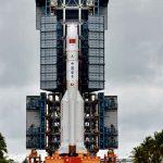 На Землю упала гигантская ступень китайской ракеты