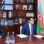Проведено видеообсуждение с депутатами-азербайджанцами в регионах России - ФОТО