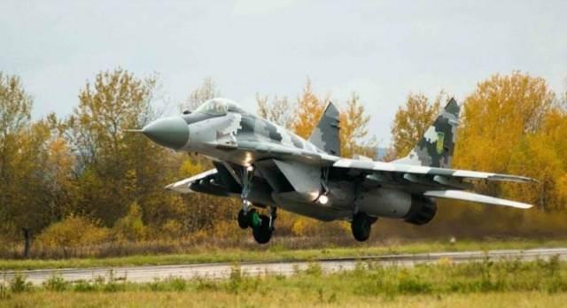 Украинский МиГ-29МУ2 отстрелялся ракетами Х-29